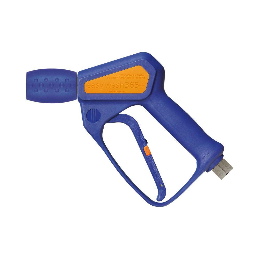 "HD-Pistole easywash365+ Weep, E=3/8"" IG (drehbar), A=1/4"" IG (drehbar), max. 310 bar, max. 150°C, max. 45 L/min"