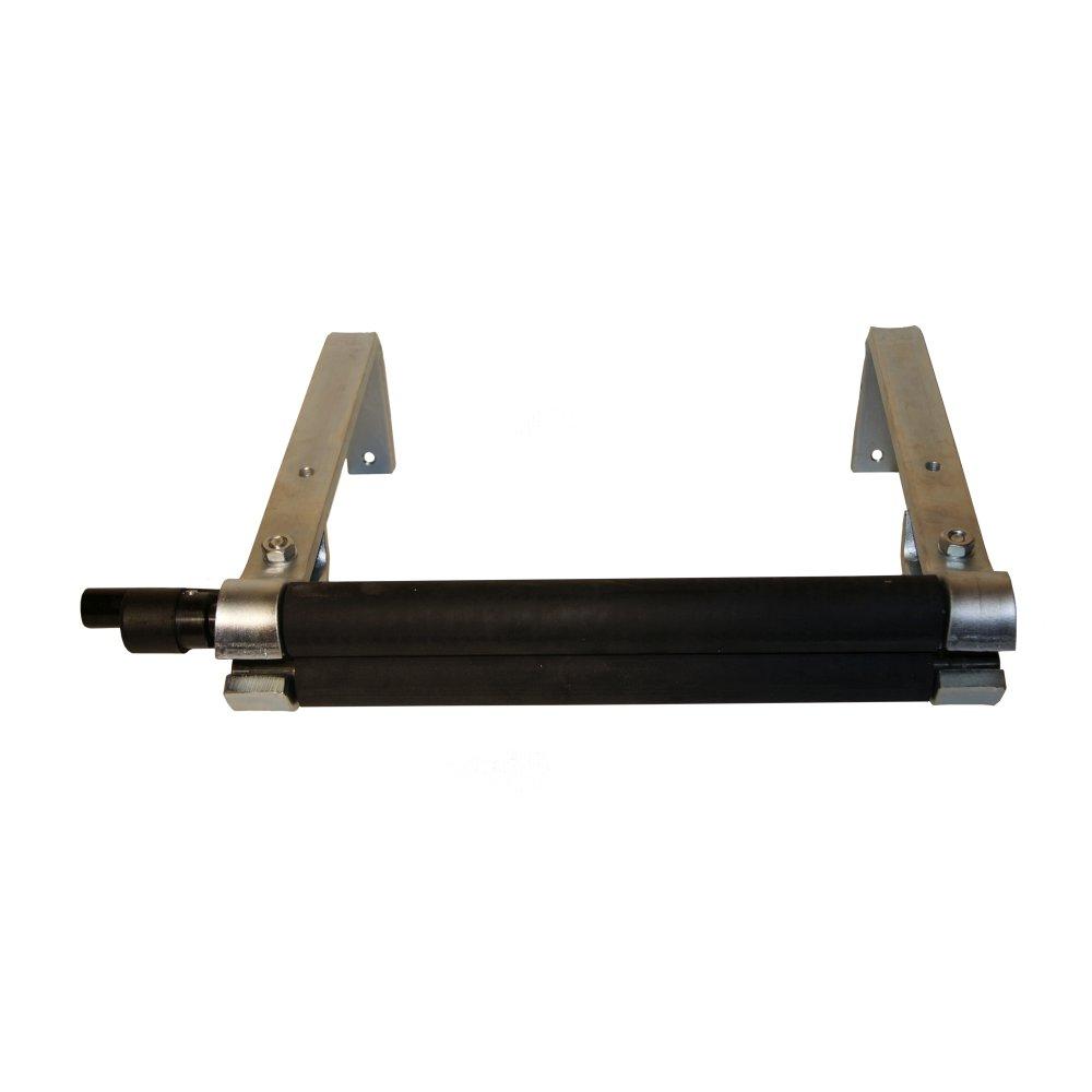 Ledertuchpresse, Lederwringer, Lederhexe, sehr robuster Stahlrahmen verzinkt – Bild 2