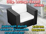 Lounge sessel schwarz günstig