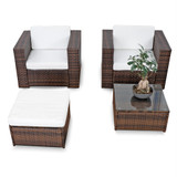 günstig kaufen lounge set B2000110 grillen ecksofa rasenkanten loungeset braun sitzgruppe 10tlg. xinro