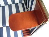 Bild 4 - Strandkorb Sylt ✔ 2-Sitzer ✔ XL ✔ blau-weiss ✔ PE-Rattan - XINRO