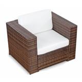 Bild 5 - 22-tlg Polyrattan Lounge Set ✔ XXL ✔ braun - XINRO