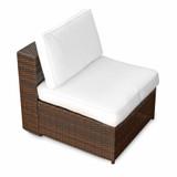 Bild 6 - 18-tlg Lounge Gartenmoebel Polyrattan ✔ XXL ✔ braun - XINRO