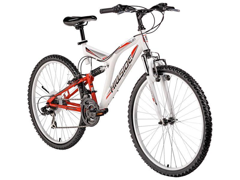 "26"" Hillside mountain bike Cliff 2.1 bicycle full suspension Fully bike 21-speed Shimano gears"