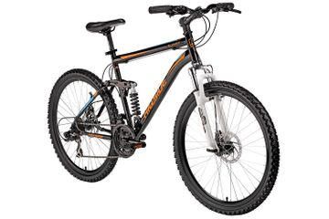 "26"" Hillside mountain bike Summit MTB bike disc brakes Fully 21-speed gears"