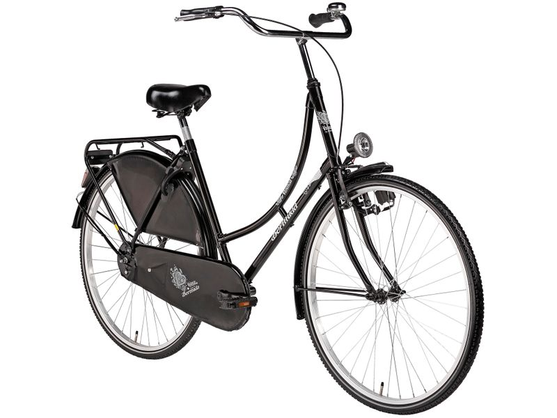 "28"" town and country bike Bermuda women's black Valencia"