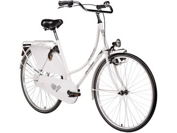 "28"" town and country bike Bermuda women white Valencia"