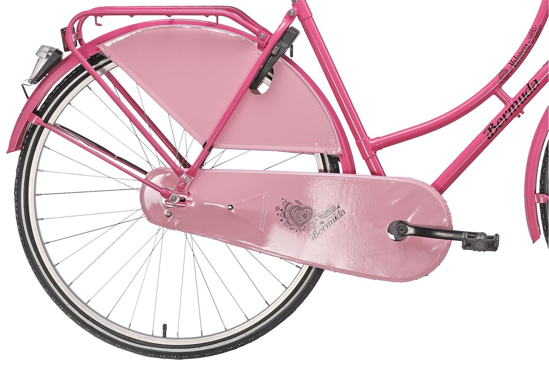 hollandrad damen bermuda pink g nstig kaufen bikes4less. Black Bedroom Furniture Sets. Home Design Ideas