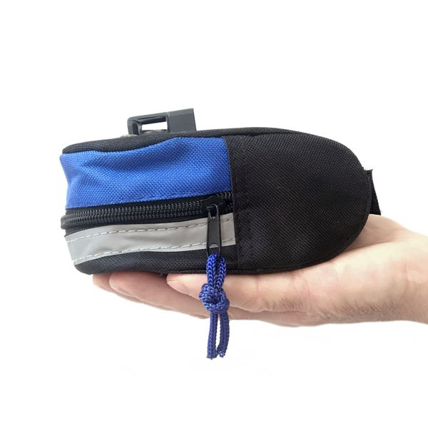 Bicycle saddle bag with repair kit tool bag bike saddle bag