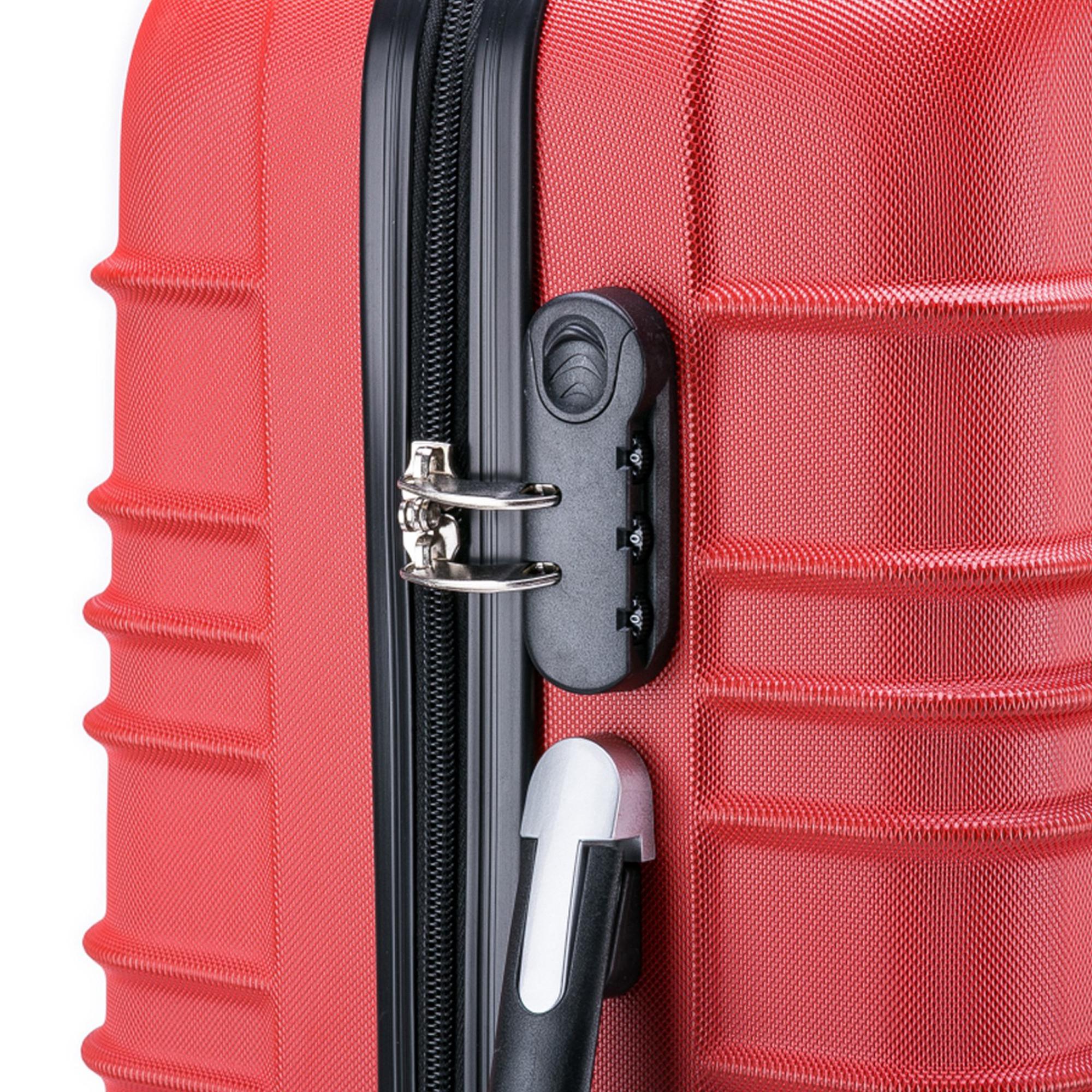 5 teiliges Koffer Set Hartschalenkoffer in 5 Farben - 7