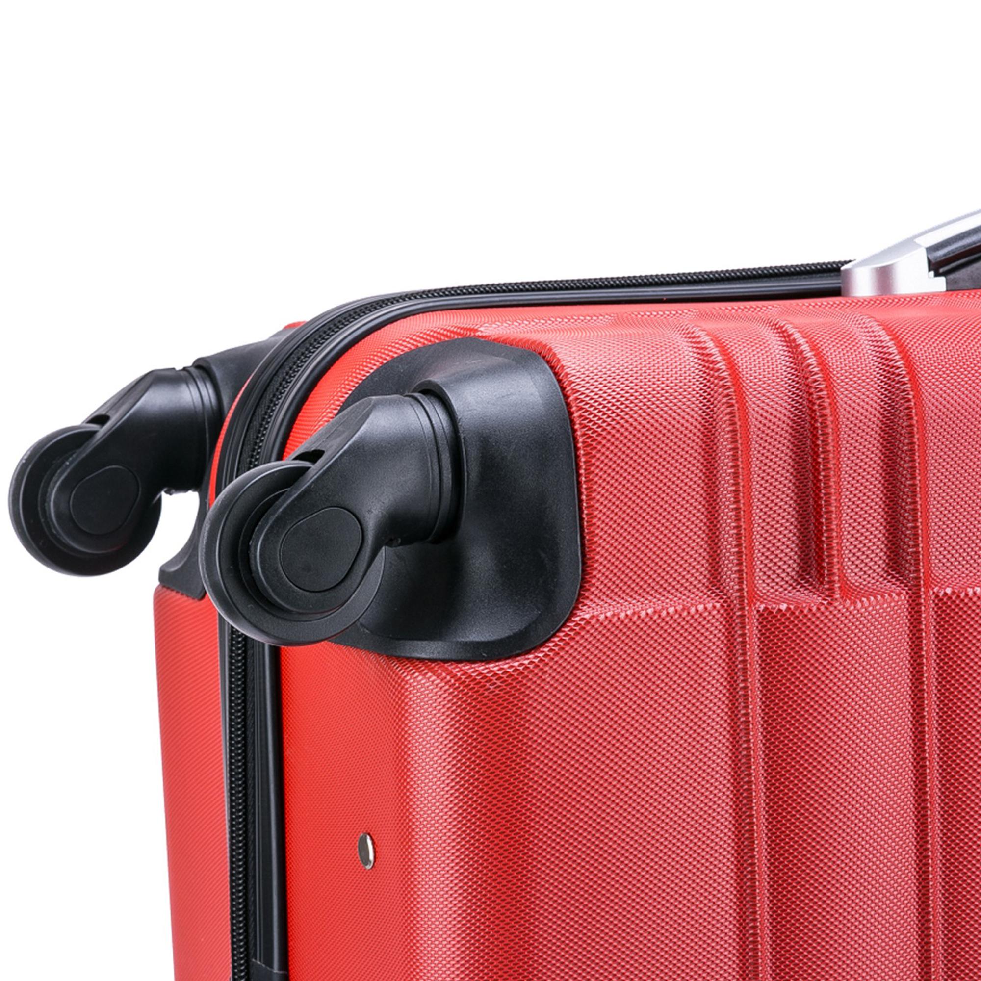 5 teiliges Koffer Set Hartschalenkoffer in 5 Farben - 9
