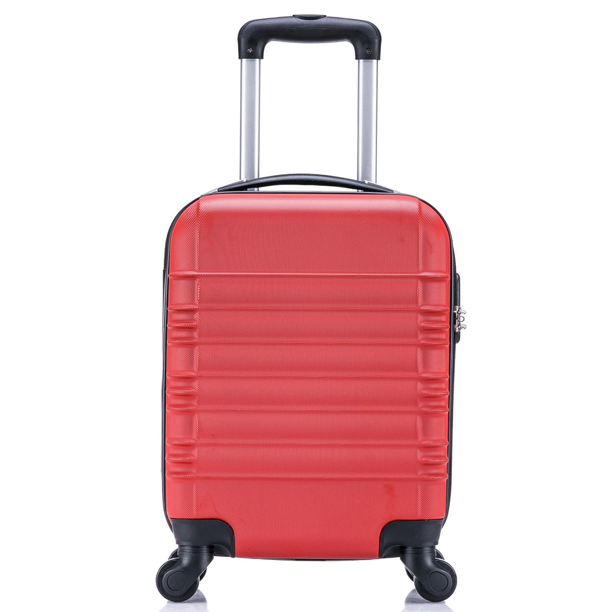 5 teiliges Koffer Set Hartschalenkoffer in 5 Farben - 16