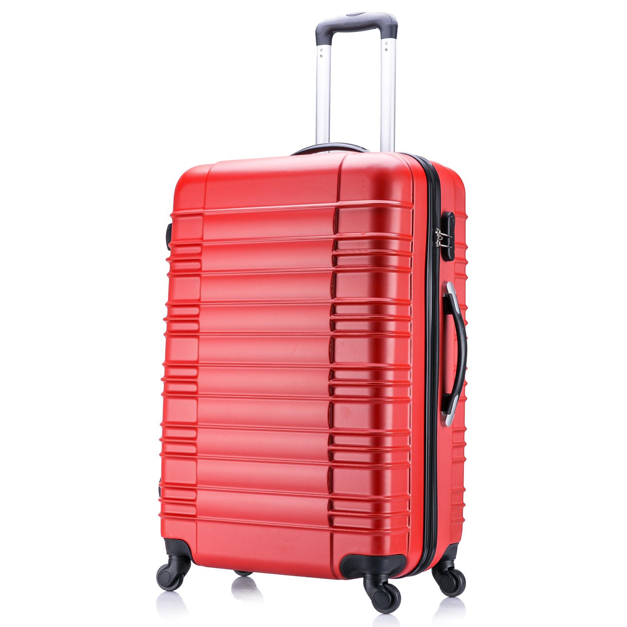 5 teiliges Koffer Set Hartschalenkoffer in 5 Farben - 17