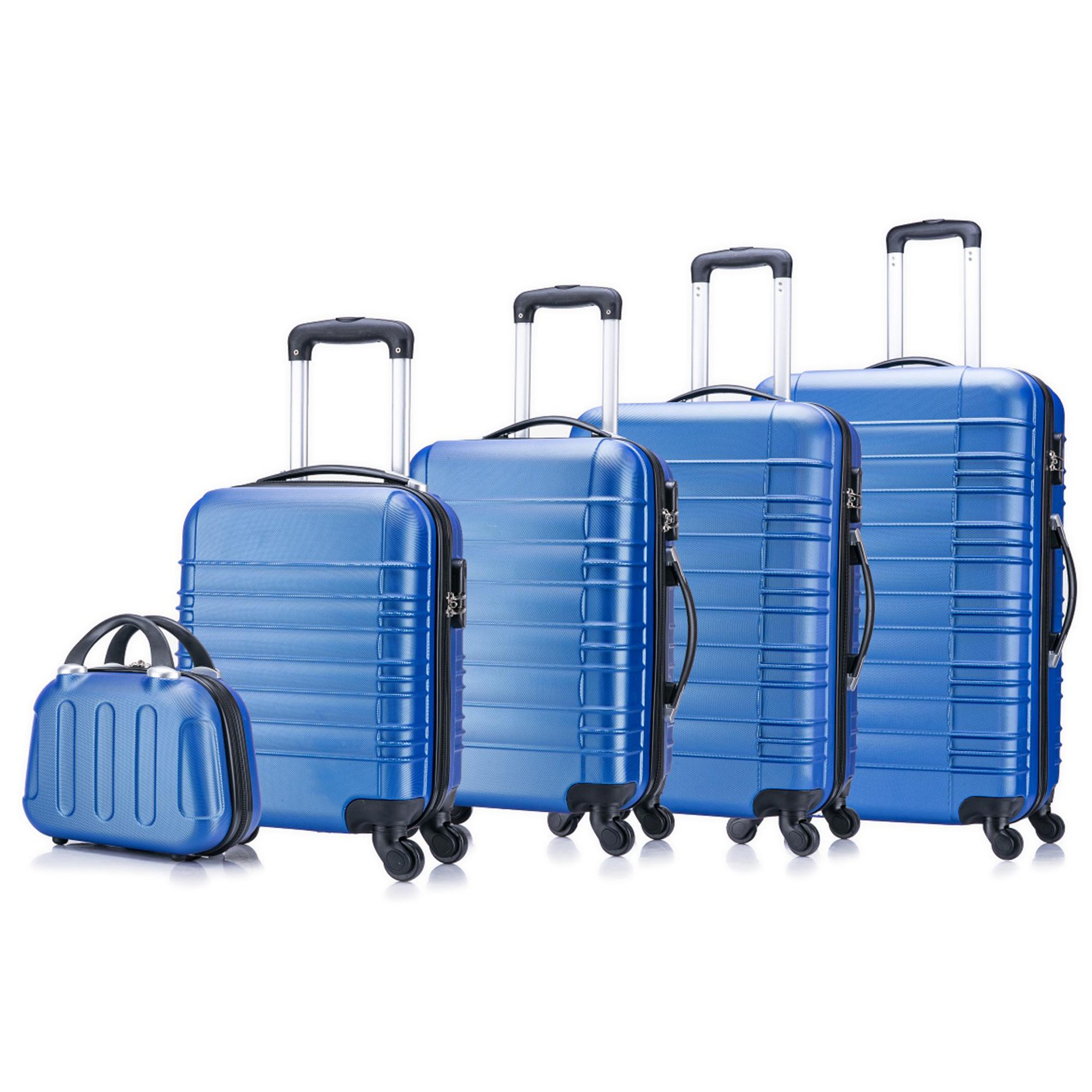5 teiliges Koffer Set Hartschalenkoffer in 5 Farben - 18