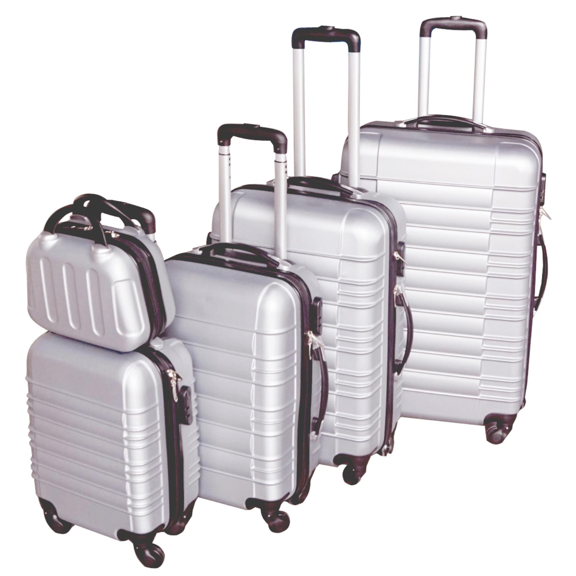 5 teiliges Koffer Set Hartschalenkoffer in 5 Farben - 36