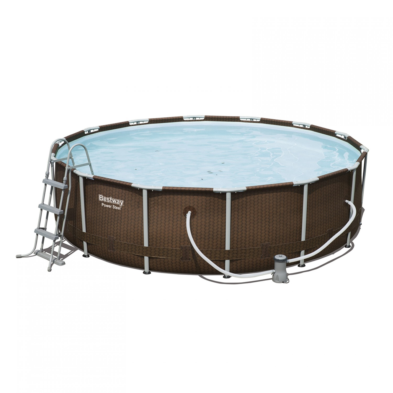 Swimming Pool von Bestway Komplett-Set 427 x 107 cm