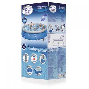 Easy Swimming Pool Bestway Set in Blau 457 x 84 cm