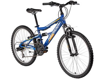 "24"" mountain bike children's bicycle Tiger 1.2 bicycle MTB Hillside 21-speed Shimano Tourney"