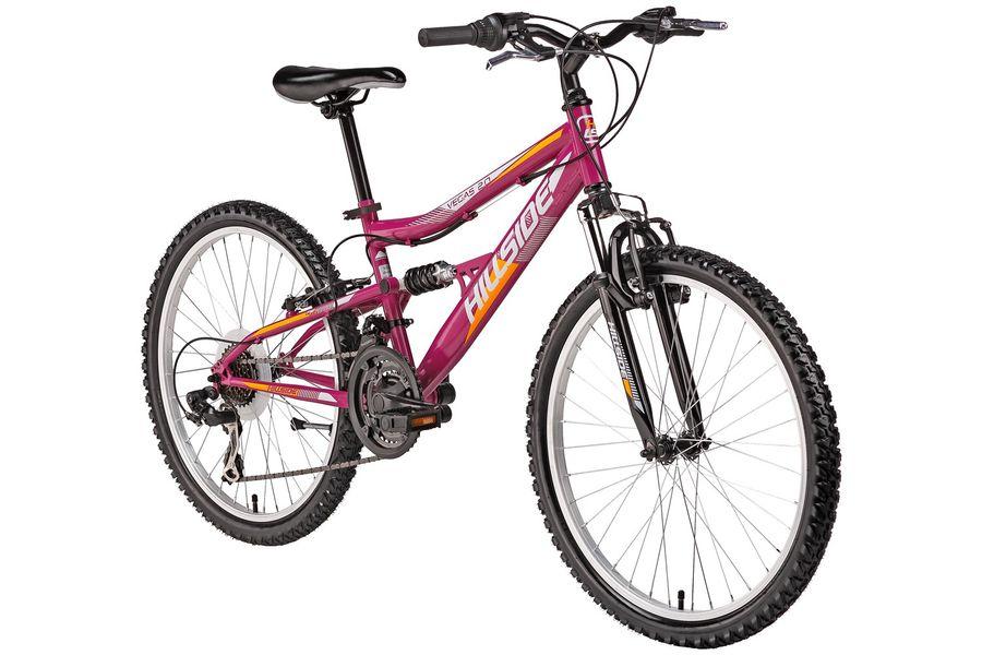 "24"" mountain bike children's bicycle Vegas 2.0 bicycle MTB Hillside 21-speed Shimano Tourney"