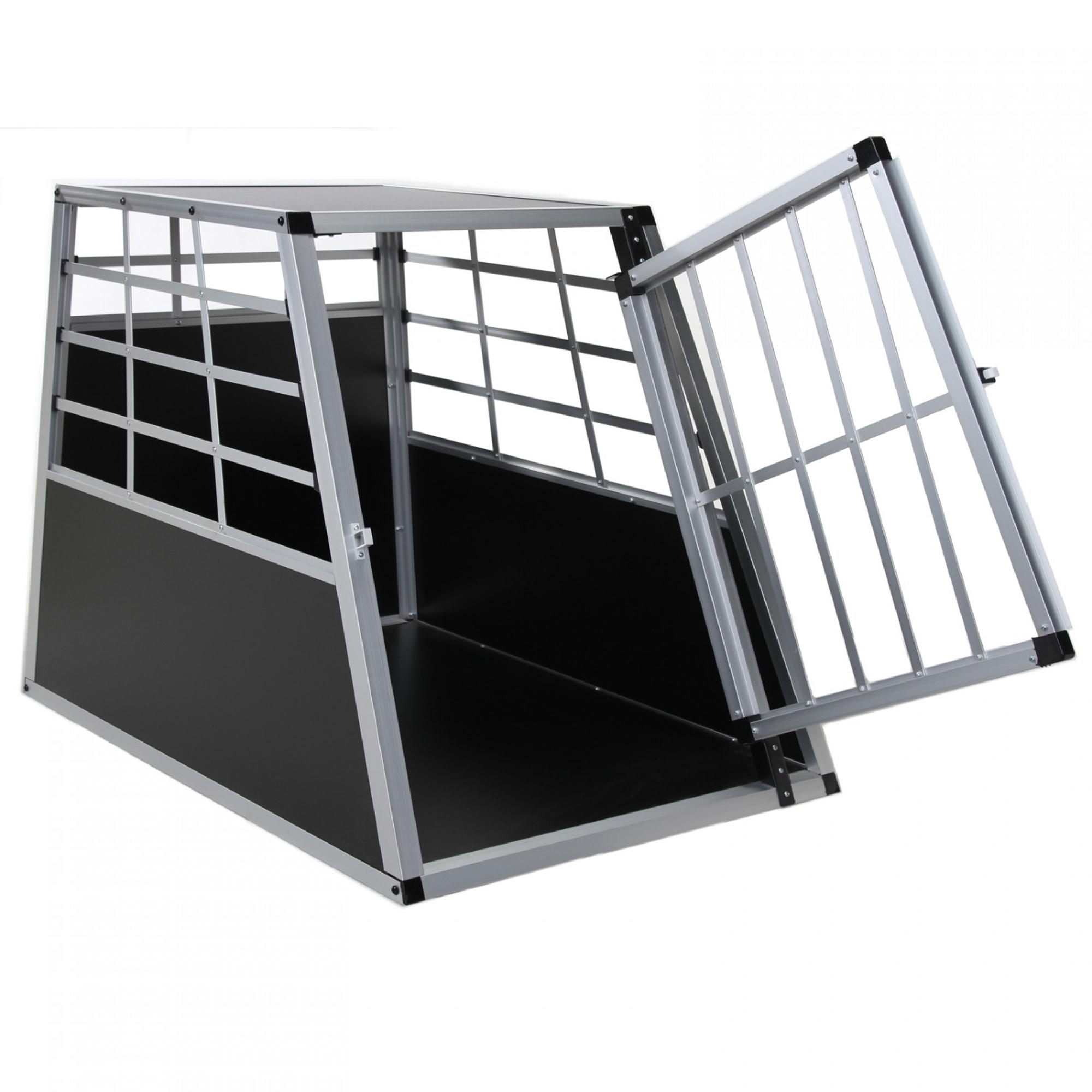 hundetransportbox xl auto box gitterbox gro e hunde alu. Black Bedroom Furniture Sets. Home Design Ideas