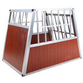 hundetransportbox gr e xl auto gitterbox gro e hunde alu. Black Bedroom Furniture Sets. Home Design Ideas