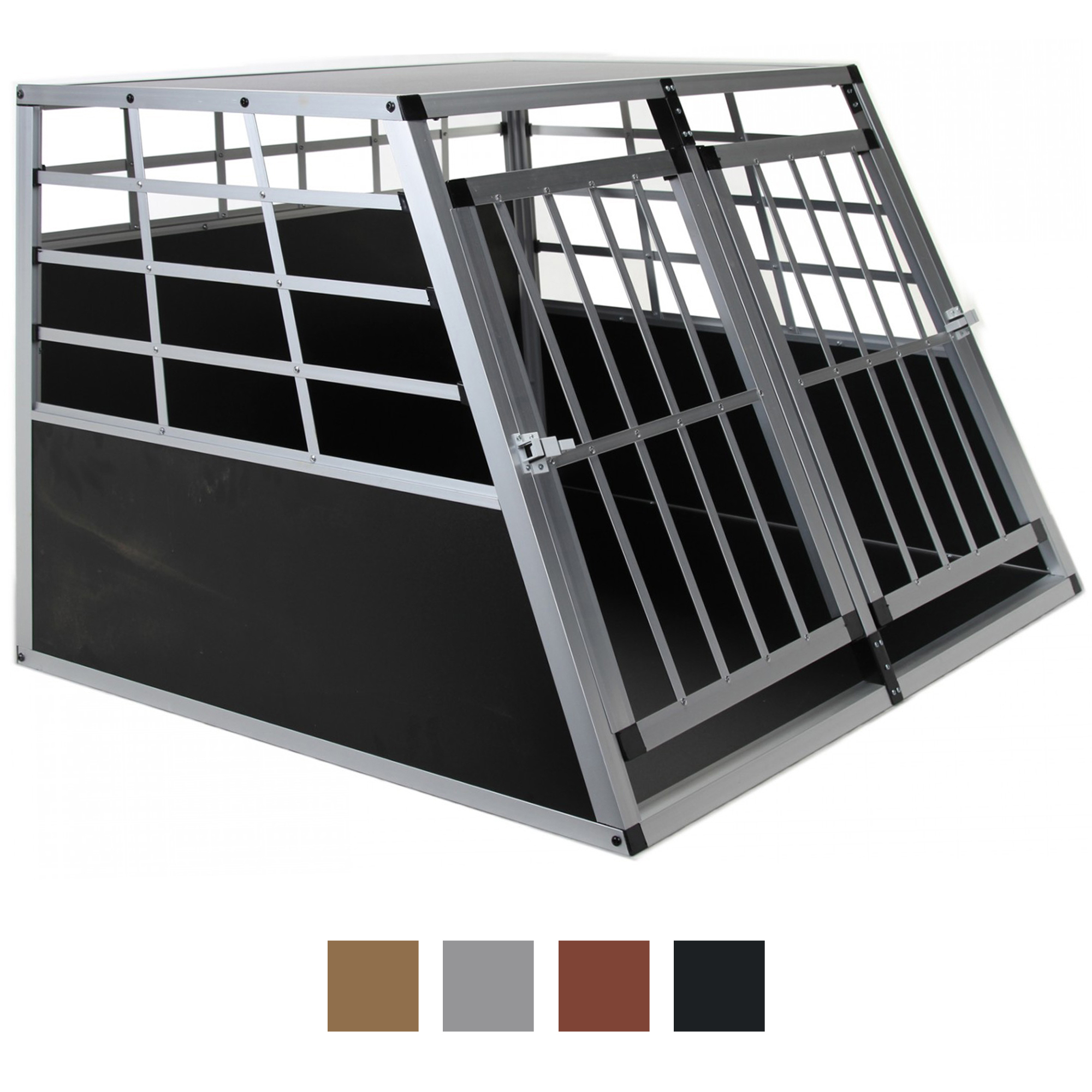 hundetransportbox hundebox transportbox auto gitterbox. Black Bedroom Furniture Sets. Home Design Ideas