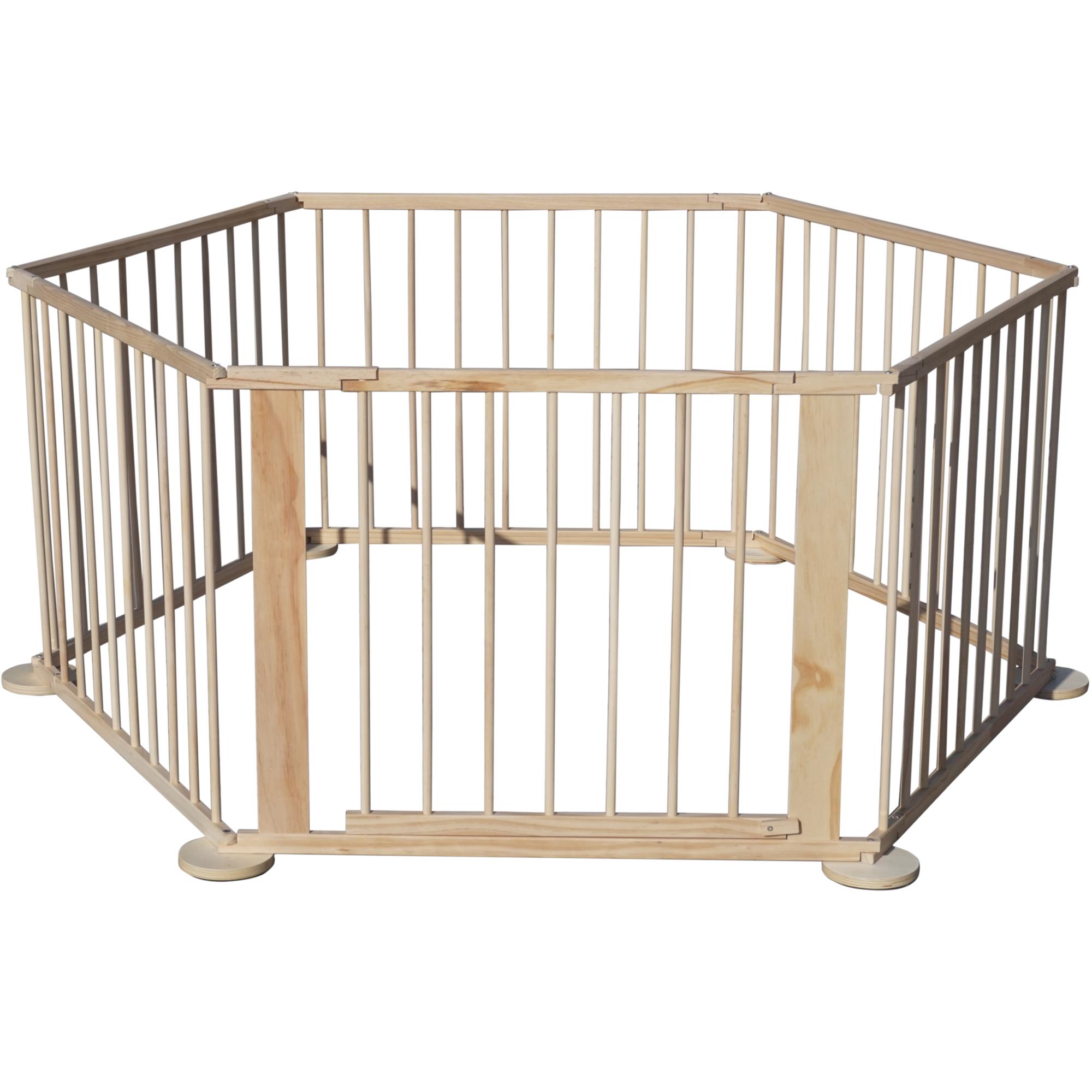 baby laufgitter absperrgitter raumteiler flexibler laufstall t rgitter 6 eck 4260424135658 ebay. Black Bedroom Furniture Sets. Home Design Ideas