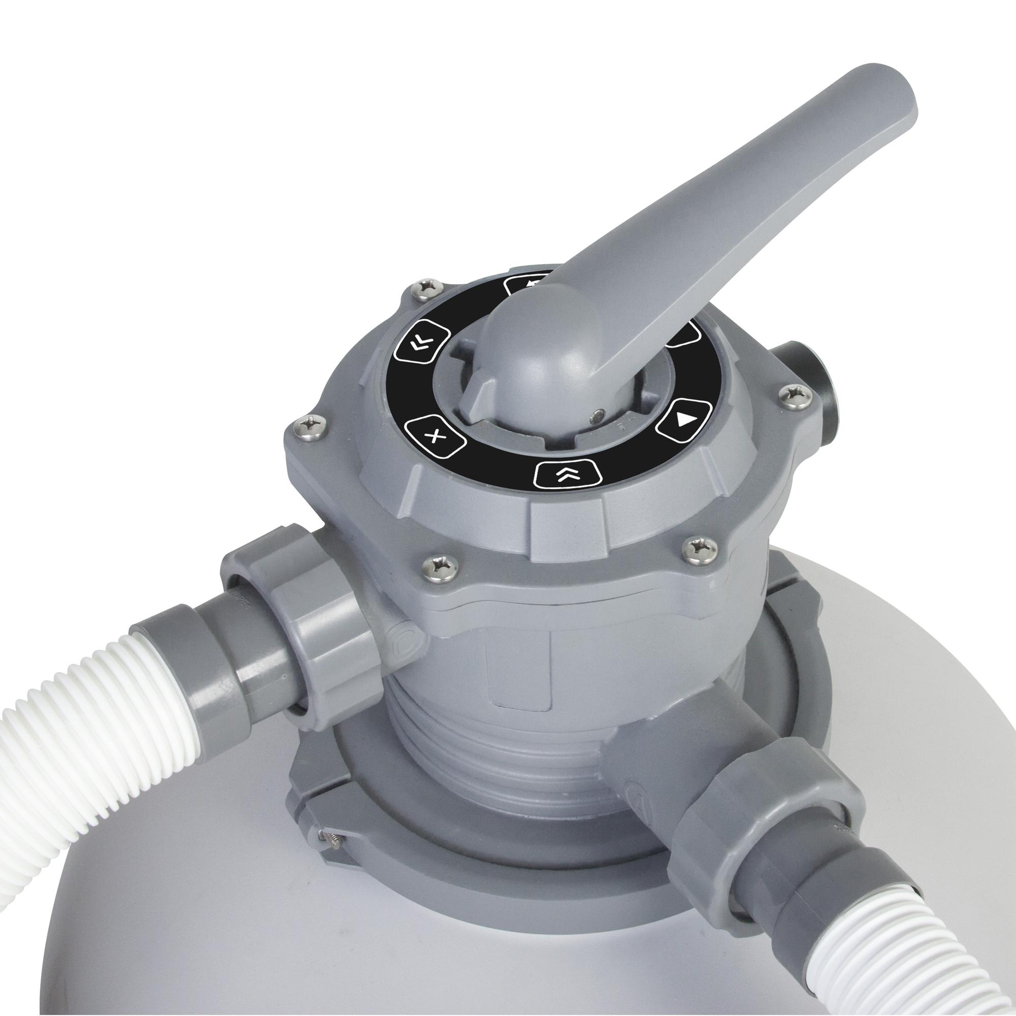 bestway flowclear sandfilterpumpe l h pool sand filter pumpe 2000gal ebay. Black Bedroom Furniture Sets. Home Design Ideas