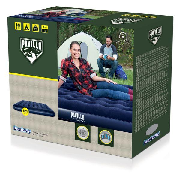 Bestway Pavillo Horizon Luftbett King Size 203 x 183 x 22 cm Camping Bett
