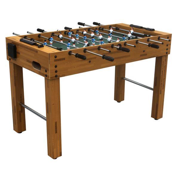 Tischfussballtisch Kicker Tisch 121x101x79cm Tischkicker Fussballtisch Spielfeld 102x58 cm