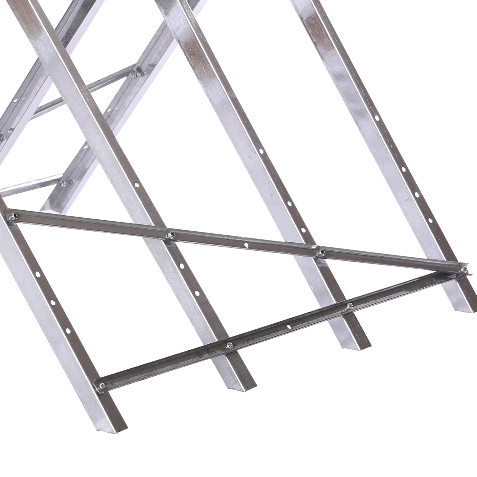 s gebock holz silber klappbar kettens ge s ge verstellbar s gehilfe metall ebay. Black Bedroom Furniture Sets. Home Design Ideas