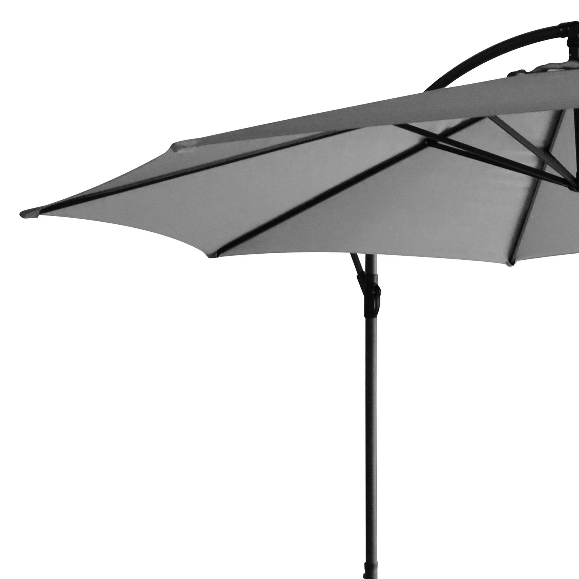 sonnenschirm freischwebend ampelschirm 350 garten schirm schutzh lle defekt ebay. Black Bedroom Furniture Sets. Home Design Ideas