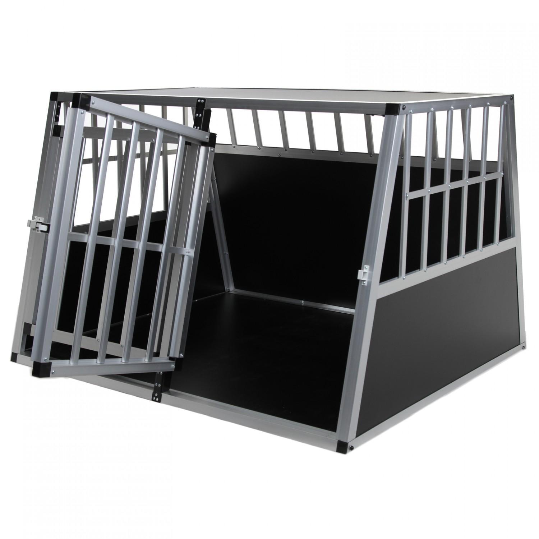 doppel hundetransportbox m auto gitterbox hunde alu. Black Bedroom Furniture Sets. Home Design Ideas