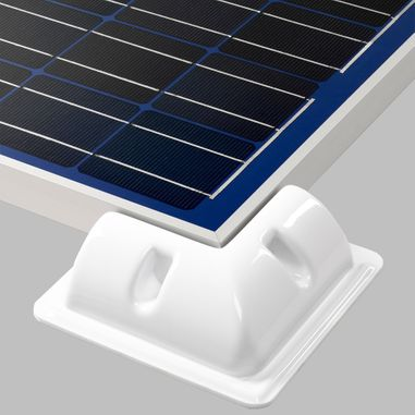 Mounting edge (4pcs.) for solar cells