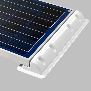 Mounting spoiler (2pcs.) for solar cells, Length 45cm