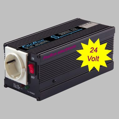 Power inverter modified sine wave 300 Watt 24V