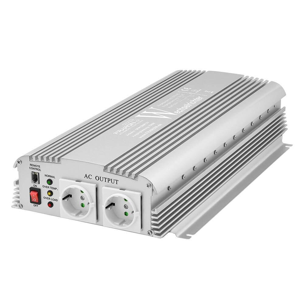 Spannungswandler Wechselrichter 24V OldFe Solar Wechselrichter 1500W DC Sinus wechselrichter