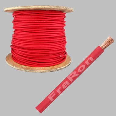 SGX Battery cable 108mm², AWG4/0, red