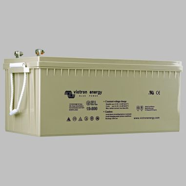 220AH GEL semi traction battery deep cycle BlueSolar