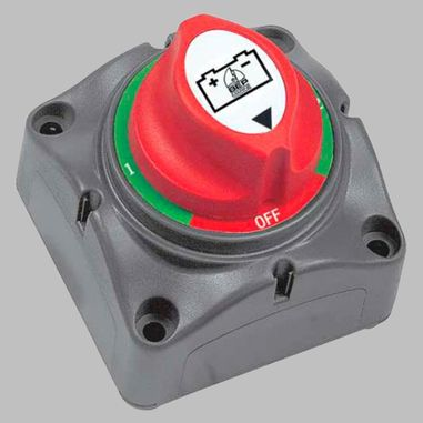 Batterieumschalter / Batteriewählschalter 200A Aufbauversion