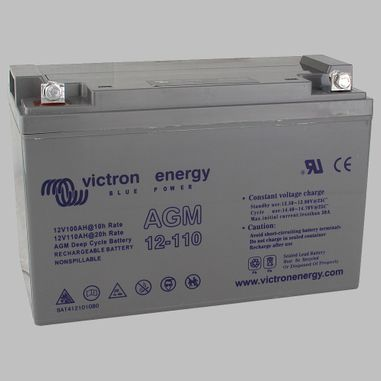 110AH AGM deep cycle semi traction battery BlueSolar