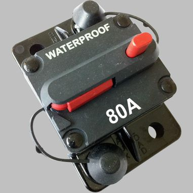 80A circuit breaker with reset / surface mount
