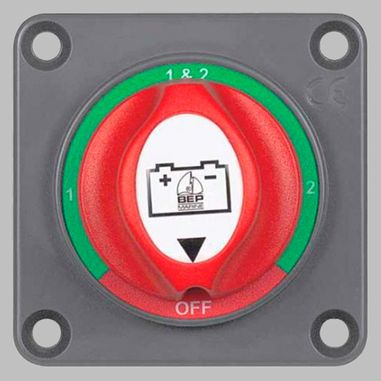 Battery selector switch 200A panel mount