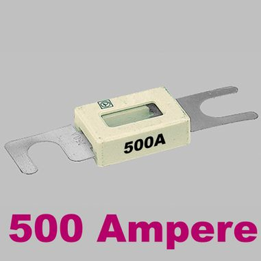 High Current Fuse 500 Ampere