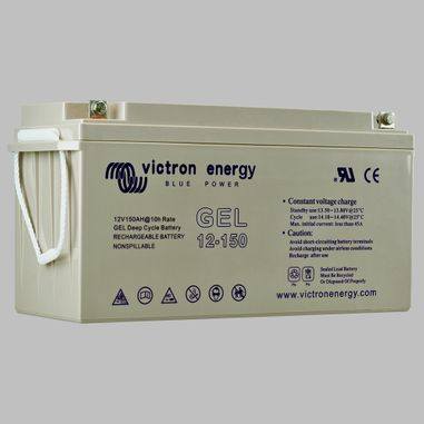 165AH GEL semi traction battery deep cycle BlueSolar
