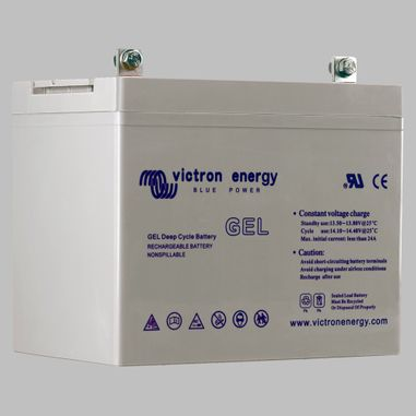90AH GEL semi traction battery deep cycle BlueSolar