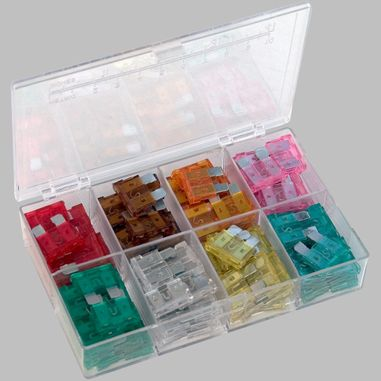 Assortment Automotive Fuse, Blade Type, 120pcs.