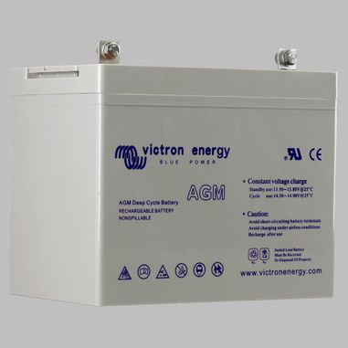 60AH AGM deep cycle semi traction battery BlueSolar