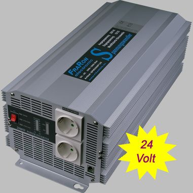 Power inverter modified sine wave 4000 Watt 24V