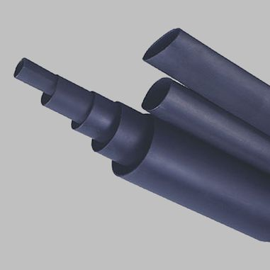 Shrink tube with adhesive, different sizes from 4,8mm up to 39mm, Shrink ratio 3:1, black